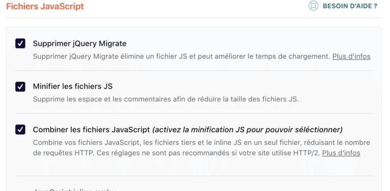 Reglages Wprocket Fichiers Js