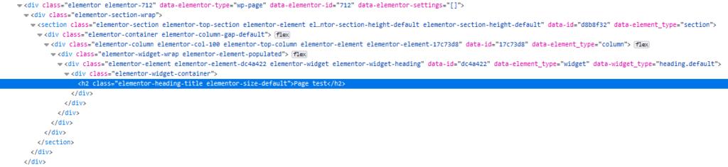 code elementor